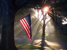 """Morning Glory"" by Forsythe Fotography . on 500px - Patriotic Sunrise"