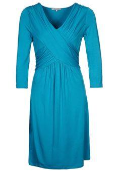 Anna Field - Vestido de algodón - azul petróleo