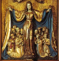 mother mary's mantle - Google Search