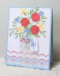 He Golfs...I STAMP!: Lots of Mother's Day! - Friendship Jar Flowers set