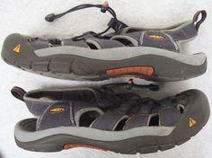 bfef87bdd06d Keen Sandals Shoes Mens Size 11 Eleven Gray Black Waterproof Hiking Man  Outdoor  KEEN  SportSandals