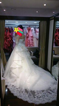 椿山荘♡タカミブライダル♡コスパの良いドレス | 手作りの♡2014.11.椿山荘ウエディング♡結婚式準備ブログ