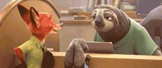 New 'Zootopia' Trailer Is One Long Clip From the Film | Cartoon Brew #sloth