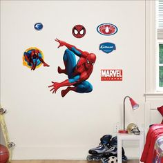 Fathead Marvel Spiderman Junior Wall Graphic * To view further for this item, visit the image link.