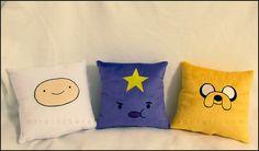 Adventure Time Pillows by *Serenity-Sama on deviantART