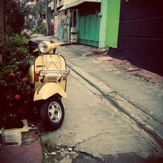 Waiting to take you away. Vespa Px, Waiting, Motorcycle, Instagram, Motorcycles, Motorbikes, Choppers
