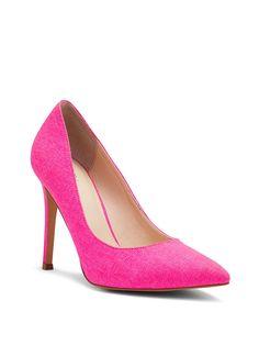 Canvas Pump - Pink   VS