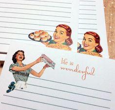 Pen Pal Stationery from penpaloftheweek.com