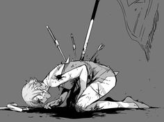 ♥ blood guro  pose reference