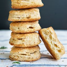 Dill Seed Biscuits | Dill seeds add a pleasant and unusual flavor to these flaky biscuits, which get their richness from both butter and heavy cream.