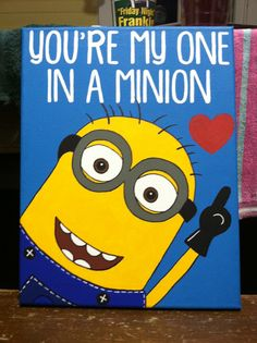 Canvas - Minion - You're my one in a minion