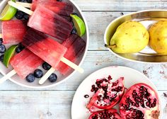Fourth of July DIY: Fruit Cocktail Cooler Popsicles made with vodka