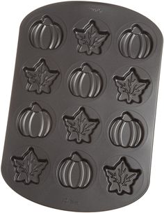 Wilton 12 Cavity Nonstick Harvest Whoopie Pie Pan -- You can find more details by visiting the image link.
