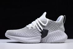 "51991842888760 Adidas AlphaBounce Instinct ""Cloud White"" White Grey-Core Black CG5590"