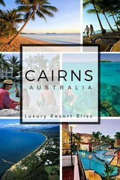 Best Cairns, Australia Resorts and Hotels. Travel Australia in style. Great Barrier Reef Accommodation - places to stay Australia Honeymoon, Australia Hotels, Visit Australia, Australia Travel, Western Australia, Couples Resorts, Australian Capital Territory, Cairns Australia, Best Hotels