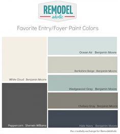 Best Versatile Entryway and Foyer Paint Colors