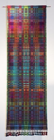 Double Weave- Cotton, hand-dyed, hand-woven