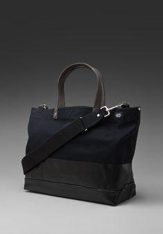 Jack Spade Dipped Coal Bag