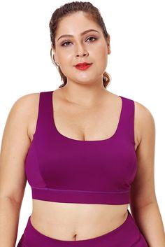 Soutien Gorge Sport Femme Grande Taille Rosy Forme de U d3d9c2ffde5
