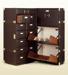 feb1162ed6ee Gucci - guccissima leather handcrafted shoe trunk 346916AA61G2019  Multifunctional Furniture, Shoes Photo, Steamer Trunk