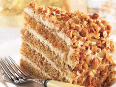 Gâteau Étagé Au Café, Au Mascarpone Et Aux Amandes - Recette de coupdepouc