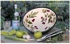 Sherwood Forest Salad Bowl. Yes, you can use it!