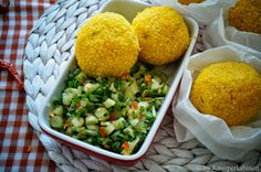vegane Arancini Snacks Für Party, Food And Drink, Ethnic Recipes, Vegan Snacks, Gluten Free Recipes, Vegan Recipes For Kids, Asparagus, Fast Recipes, Side Dishes