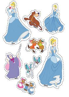 Princesas disney para recortar