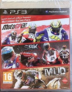 Motorbike Racing Pack MotoGP13 SBK Generations MUD FIM Motocross World Championship PlayStation 3 PS3 by Milestone -- Find out more about the great product at the image link. Note:It is Affiliate Link to Amazon.