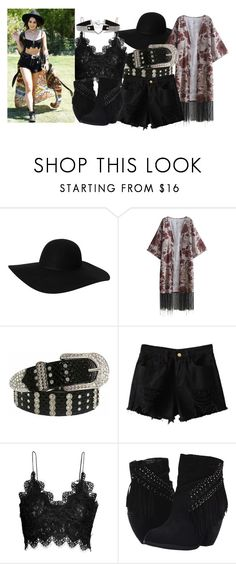 """""""Vanessa Hudgens at Coachella 2017"""" by almostfamous86 ❤ liked on Polyvore featuring Monki and Not Rated"""