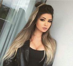 Follow me on ℙⒾℕ₮ ℇℛℰⓈŦ | @ajh71815 ♪♫♩♬ Ombre Hair, Balayage Hair, Hair Color Highlights, Fall Hair, Hair Dos, Pretty Hairstyles, Hair Hacks, Dyed Hair, Hair Inspiration