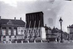 Beskyttelse af rytterstatuen på Amalienborg