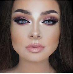 Make-up to sublimate blue eyes - Makeup for Best Skins! Prom Makeup, Bridal Makeup, Wedding Makeup, Makeup Inspo, Makeup Inspiration, Makeup Tips, Makeup Ideas, Make Up Looks, Beauty Make-up