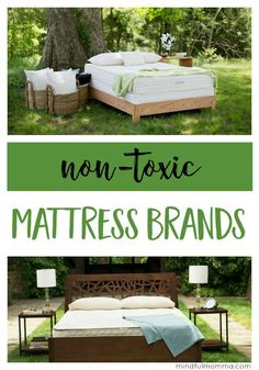 Mattress Brands for Worry Free Sleep Non-Toxic Mattress Brands: Get the scoop on the best brands to look for including safe materials and fire retardants used, eco-friendly certifications, pricing and more. Best Mattress, Mattress Brands, Healthy Nights, Healthy Sleep, Green Living Tips, Latex Mattress, Natural Lifestyle, Healthy Lifestyle, Organic Lifestyle