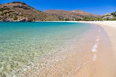 One of the many amazing beaches on Andros island in Cyclades, Aegean sea-Greece.   #greeksummer #summeringreece #greekbeach #Andros #fellos #androsbeach #Cycladic #Ανδρος #παραλιαστηνΑνδρο #κυκλάδες Island Beach, Islands, Greece, Water, Outdoor, Greece Country, Gripe Water, Outdoors, Outdoor Games