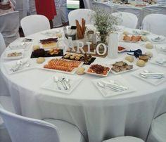 Decoración de mesas | Bautizo Carlo
