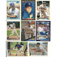 Huge 30 + different JOHN JAHA cards lot Brewers Athletics 2 RC 1992 - 2000 Listing in the 1990-1999,Sets,MLB,Baseball,Sports Cards,Sport Memorabilia & Cards Category on eBid United States | 148566374