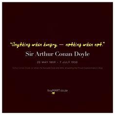 Sir Arthur, Arthur Conan Doyle, Proust Questionnaire, Marcel Proust, Advertising, Ads, Literature Books, Sherlock, Entrepreneur