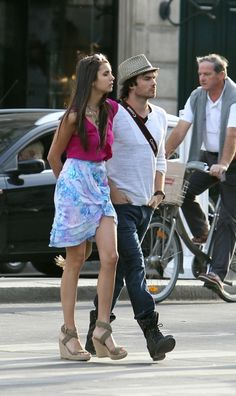 Nina Dobrev and Ian Somerhalder in Paris France- cutest couple award OBSESSED WITH THEMMMMMM!!!!!!!!!!!!!!!!!!!!!!!!!!!!!!!!!!!!!!!!!!!!!!!!!!!!!!!!!!!!!