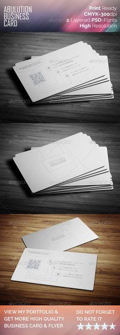 Abulution Business Card
