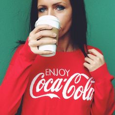 COCA-COLA SWEATER Red sweater. Size medium, true to size. Great condition. NO TRADES, OFFERS WELCOME! Coca-Cola Sweaters Cardigans