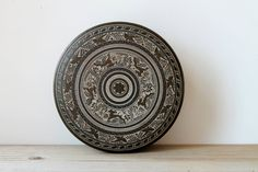 Vintage decorative metal tin / cottage chic by WhiteDogVintage