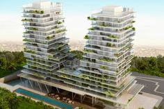 The Istanbul Residences architectural projects, please visit our page to view project details and photos. Condominium Architecture, Futuristic Architecture, Facade Architecture, Residential Architecture, Residential Building Design, University Architecture, Eco Buildings, Architecture Concept Drawings, Facade Design