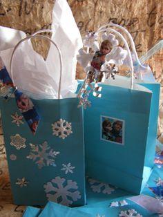 Set Of 8 Snowflake FROZEN Princess Elsa And by MesBellesSoeurs, $19.99