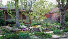 exterior ideas home without lawn, via freshome.