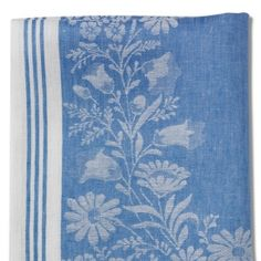 Linen kitchen towels -I have a large tablecloth in this same pattern