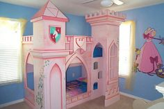 Virtually every little gal wants to be a princess, so why not make your little princess seem like one! Your kid's bed room is probably the only area in your