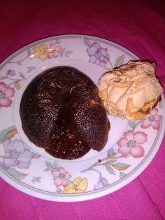 Desafios da cozinha sem glúten: Fondant de chocolate sem glúten