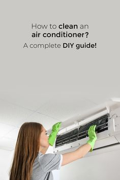 Central Air Installation, Mini Split Ac, Clean Air Conditioner, Cleaning Spray, Ac Units, Heating And Cooling, Cleaning Solutions, Indoor Air Quality, Tips