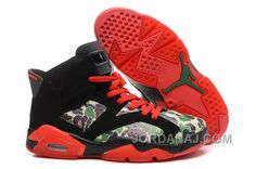 http://www.jordanaj.com/hot-air-jordan-vi-6-retro-womens-shoes-black-red-new.html HOT AIR JORDAN VI 6 RETRO WOMENS SHOES BLACK RED NEW Only $97.00 , Free Shipping!